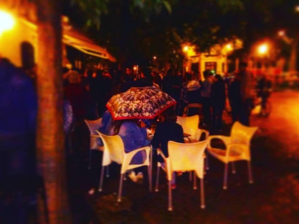 rainy seville